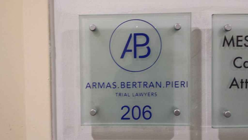 ADA / Braille Sign